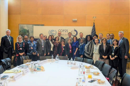US Delegation and Faith Leaders photo at COP25